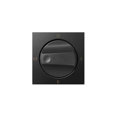 Abdeckung für Drehschalter 4 Positionen 0-I-II- III graphit matt Kontakt Simon 82 82079-38