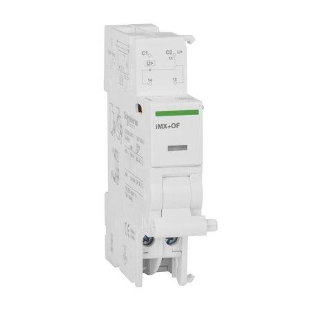 Arbeitsstromauslöser Acti9 mit Kontakt iMX+OF-48 1CO 48 V AC/DC
