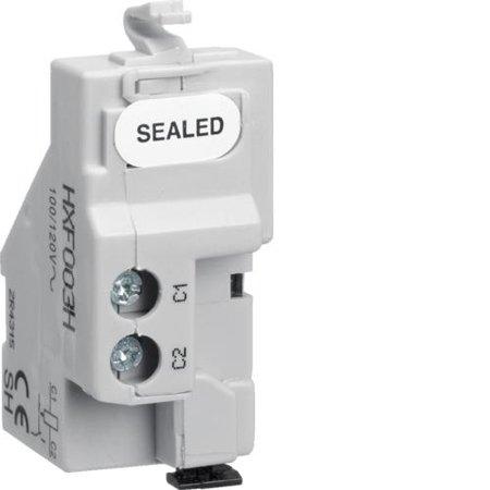 Arbeitsstromauslöser für Baugröße h1600 100-120V AC Hager HXF003H