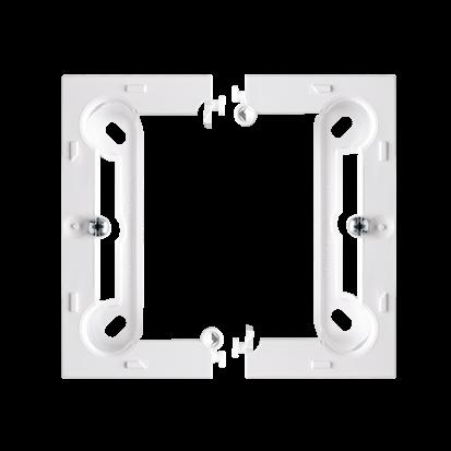 Aufputzdose für Rahmen Basic NEOS Tiefe 40mm weiß Kontakt Simon PSCS/11