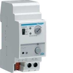 Dämmerungsschalter 1-6 Kanäle KNX 20kLux Hager TXA025