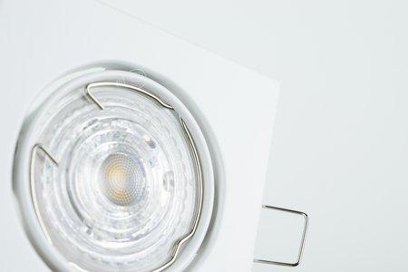 Deckeneinbauleuchte Deckenspot Einbaustrahler VIERA White IP20 eckig weiß EDO777303 EDO
