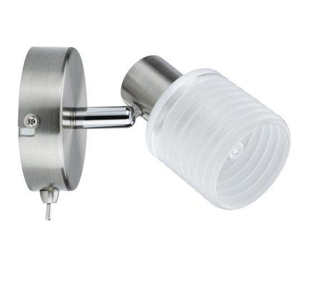 Deckenleuchte Helix LED spot 1x2,2W G9 Nickel Satin