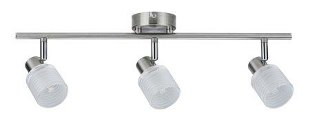 Deckenleuchte Helix LED spot 3x2,2W G9 Nickel Satin
