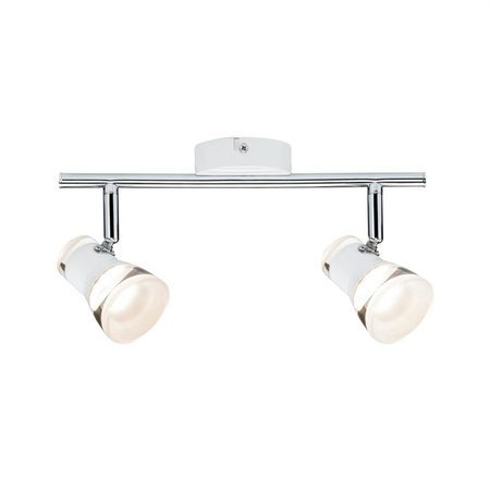 Deckenleuchte LED Spotlight Clear 2x4,3W 3000K Chrom