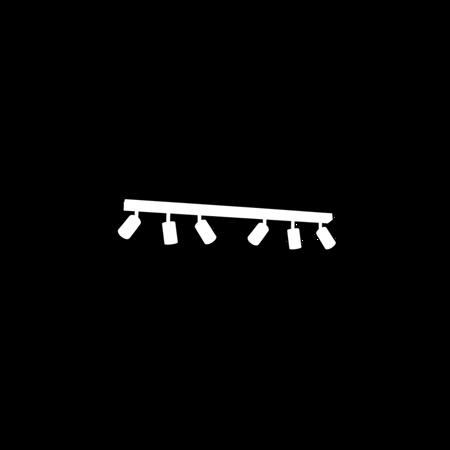 Deckenleuchte schwarz JOKER 6xGU10 Milagro MLP1340