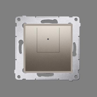 Dimmer 2 fach (Modul) Gold matt 40–500 W (300 VA) Simon 54 Premium Kontakt Simon D75310.01/44
