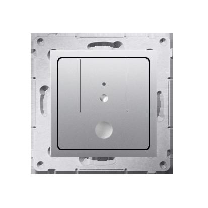 Dimmer 2 fach (Modul) Silber matt 40–500 W (300 VA) Simon 54 Premium Kontakt Simon D75310.01/43