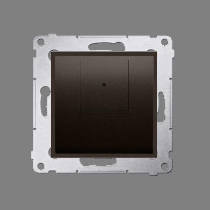 Dimmer 2 fach (Modul) braun matt 40–500 W (300 VA) Simon 54 Premium Kontakt Simon D75310.01/46