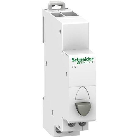Drucktaster Einfach (Rückstellung) iPB-20-10 20A 1NO grau Schneide