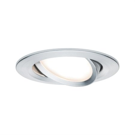 Einbauleuchte dimmbar schwenkbar LED Premium EBL Coin Slim 6,8W 2700K 425lm Aluminium