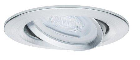 Einbauleuchte dimmbar schwenkbar LED Set Premium EBL Nova 3x7W GU10 Aluminium