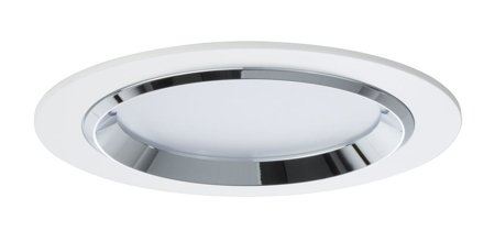 Einbauleuchte, rund LED Dot 3x8W weiß Chrom Aluminium