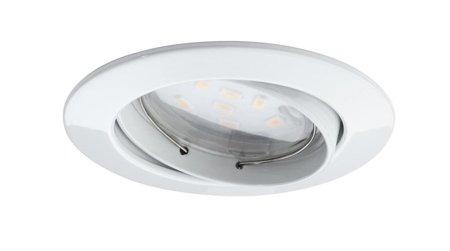 Einbauleuchten schwenkbar Coin dimmbar LED 3x7W weiß matt