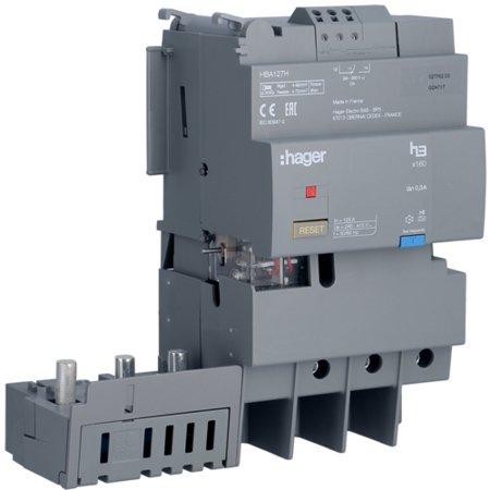 FI-Block 3polig 125A  Hager HBA12H
