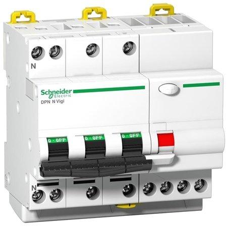 Fehlerstrom-Schutzschalter DPNNVigi-C25-30-AC C 25A 3N-polig 30 mA Typ AC