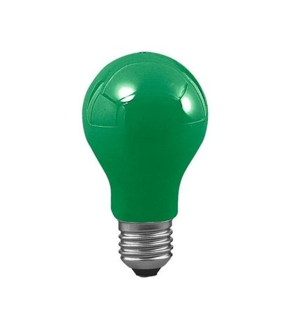 Glühbirne E27 grün 25W 7lm