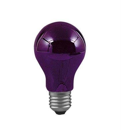 Glühbirne GSL Kugel E27 75W Schwarzlicht