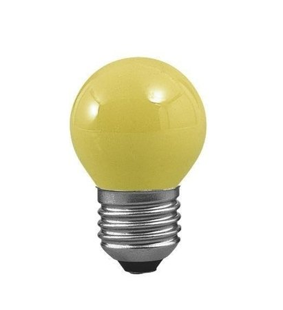 Glühbirne Kugel Gelb E27 25W 83lm