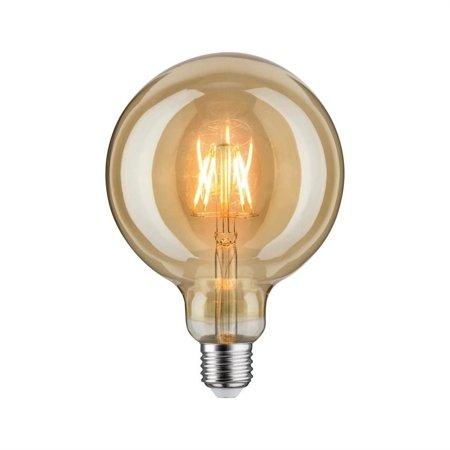 Glühbirne LED Globe 125 E27 6,5W Gold 1700K 420lm
