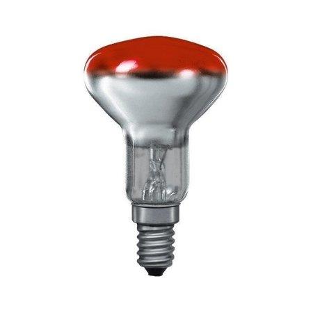 Glühbirne R50 E14 Rot 25W 23lm