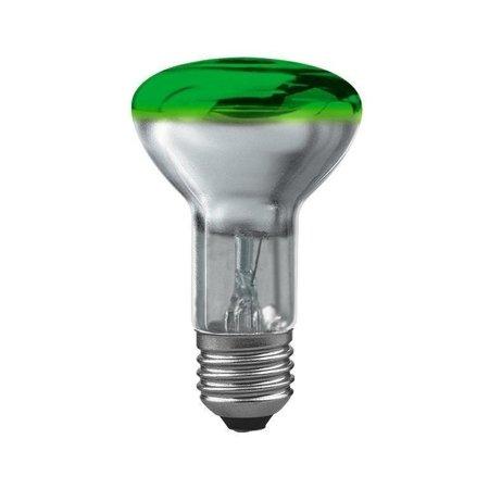 Glühbirne R63 E27 grün 40W