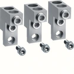Klemmen für Baugröße h400/h630 3polig Alu/Kupfer 2x 95-240mm? Hager HYD007H