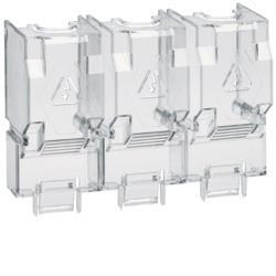 Klemmenabdeckeckung Sicherungs-Lasttrennschalter 250- 400A 4polig Hager HZF205