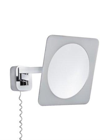 Kosmetikspiegel Bela quadratisch LED 5,7W 3000K 260lm IP44 Chrom
