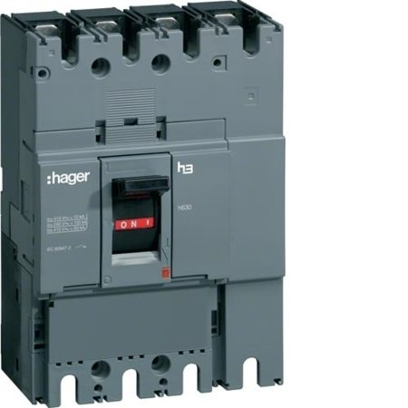 Lasttrennschalter Baugröße h630 3polig 400A Hager HCD400H