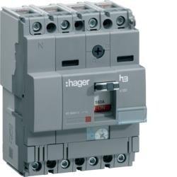 Lasttrennschalter h3 x160 4 polig 160A CTC Hager HCA161H