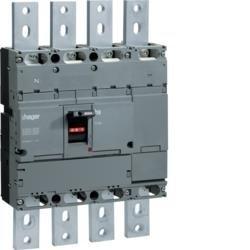 Leistungsschalter Baugröße h1000 4polig 800A Hager HCE801H
