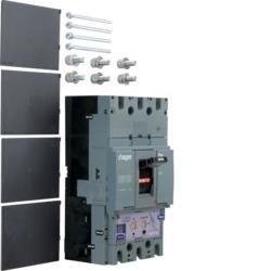 Leistungsschalter Baugröße h630 3polig 50kA 400A elektronischer Einstell. LSI Hager HND400H