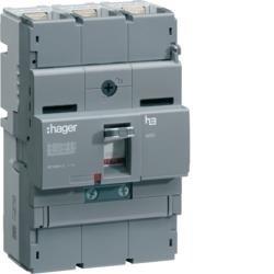 Leistungsschalter Baugröße x250 3P 40kA 100A TM Hager HNB100H