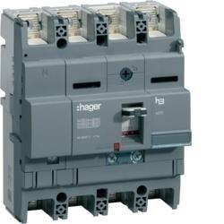 Leistungsschalter Baugröße x250 4polig 40kA 200A TM Hager HNB201H