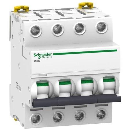 Leitungsschutzschalter iC60L-B4-4 B 4A 4-polig