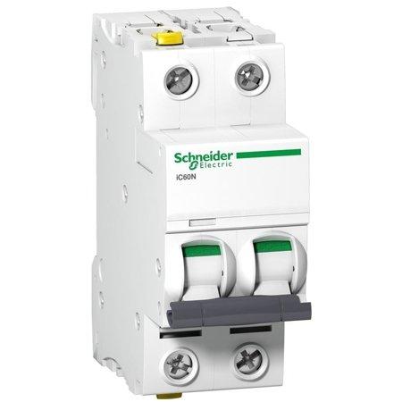 Leitungsschutzschalter iC60N-D0,5-2 D 0,5A 2- P+E