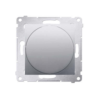 Lichtsignal rot LED (Modul) Gehäuse silber matt Simon 54 Premium Kontakt Simon DSS2.01/43