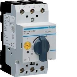 Motorschutzschalter einstellbar von 10A bis 16A 230/400V Hager MM511N