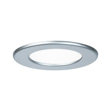 Panel LED Qual rund 6W 4000K Chrom IP44