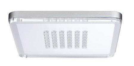 Panel LED eckig 210x210mm Shower Panel LED 10W 2700K Aluminium