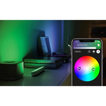 Philips Hue Tischleuchte Play LED weiß 42W 530lm  2000–6500K Hue White Color Ambiance