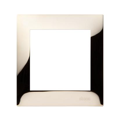 Rahmen 1fach Gold IP20/IP44 Simon 54 Premium Kontakt Simon DR1/66