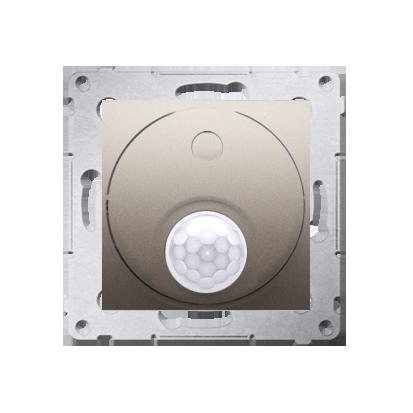 Relais- Schalter (Modul) mit Bewegungssensor Verwendung im offenen Bereich gold matt DCR11P.01/44