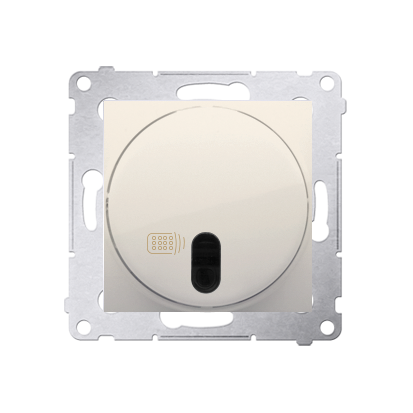 Relais-Schalter (Modul) mit Fernbedienung cremeweiß Simon 54 Premium Kontakt Simon DWP10P.01/41