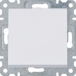 Schalter 1 fach 1 polig 250 V 10AX weiß Lumina Hager WL0010