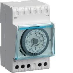 Schaltuhr elektromechanisch mit Gangreserve Wochenuhr 1W 16AHager EH171
