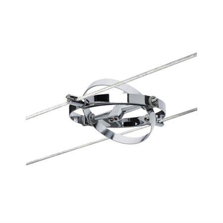 Seilsystem Spot Cardan GU5,3 Chrom matt 12V