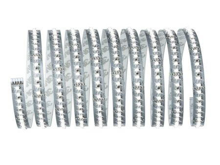 Set Stripe-Band LED MaxLED 1000 3m Tageslicht 34W 6500K 3300lm 230/24V Silber