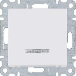 Steuerschalter Universal-/Treppenhaus, weiß WL0220 Lumina Hager